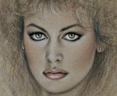 8. Ritratto di Dalila Di Lazzaro Roma 1982